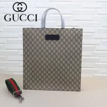 GUCCI-450950-04 古馳時尚新款原單中性风格男女通用超级购物袋