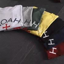十字架系列 純棉短袖T恤 情侶款