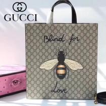 GUCCI-450950-06 古馳時尚新款原單中性风格男女通用超级购物袋