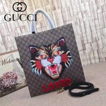 GUCCI-450950-08 古馳時尚新款原單中性风格男女通用超级购物袋