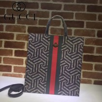 GUCCI-450950-010 古馳時尚新款原單中性风格男女通用超级购物袋