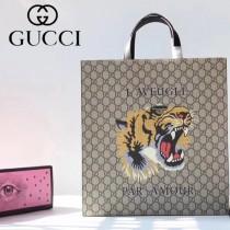 GUCCI-450950-03 古馳時尚新款原單中性风格男女通用超级购物袋