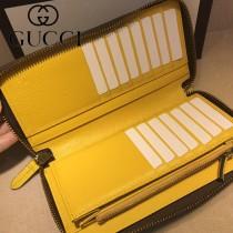 GUCCI-473973-1 古馳新款原版皮男士小牛皮拉鏈錢包