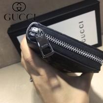 GUCCI-473928-1 古馳新款原版皮男士小牛皮拉鏈長夾