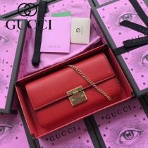 GUCCI-453506-03 古馳新款原版皮手包 斜背包 錢包