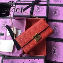 GUCCI-453506-04 古馳新款原版皮手包 斜背包 錢包