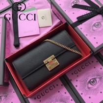 GUCCI-453506-02 古馳新款原版皮手包 斜背包 錢包