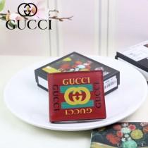 GUCCI-496309-02 古馳新款原版皮小牛皮拉鏈錢包 短夾