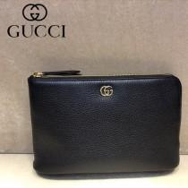 GUCCI-497989 古馳新款原版皮軟牛皮手包