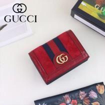 GUCCI-523155 古馳新款Ophidia系列原版皮小卡包