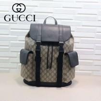 GUCCI-450958-01 古馳時尚潮流原版皮街拍休閒必備背包