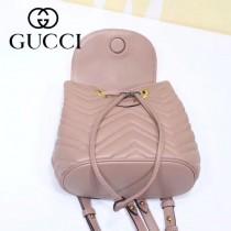 GUCCI-528129-02 古馳新款Marmont系列原版皮最新特色造型雙肩包