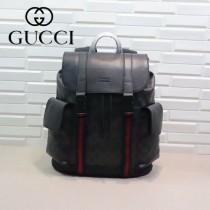 GUCCI-450958-02 古馳時尚潮流原版皮街拍休閒必備背包
