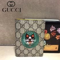 GUCCI-506275 古馳新款原版皮超萌刺繡護照本