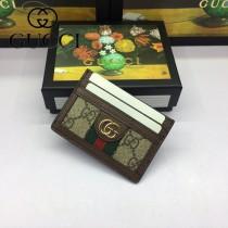 GUCCI-523159 古馳新款Ophidia系列原版皮小卡包