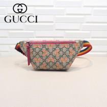 GUCCI-527792 古馳時尚潮流原版皮明星同款腰包 胸包