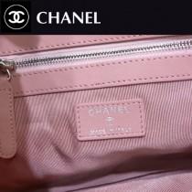 CHANEL-70253-02  原單 限量新款 弧品 漸變色配胎牛皮 水晶膠吊墜雙C 手拿包