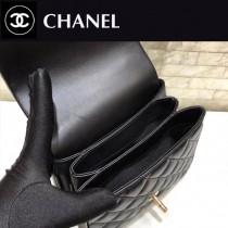 CHANEL-PART3-4 原單 進口羊皮斜挎手提包  小可愛 三個隔層