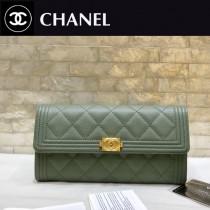Chanel-80286-03 原版皮 進口球紋 二折錢夾 專櫃同步上市