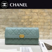 Chanel-80286-04 原版皮 進口球紋 二折錢夾 專櫃同步上市