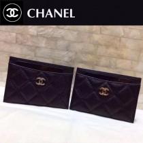Chanel-624-04 香奈兒升級版進口魚子醬牛皮卡包