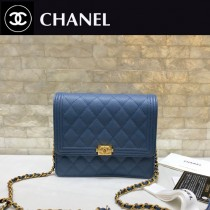 Chanel-84433-01 原版皮 經典球紋菱格紋 小巧精美的鏈條包 迷妳風琴設計