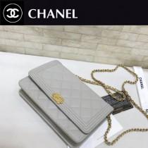 Chanel-80287-02 新色 原單進口球紋 WOC招財包 專櫃同步上市