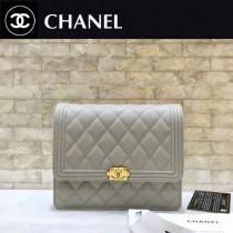 Chanel-84433-04 原版皮 經典球紋菱格紋 小巧精美的鏈條包 迷妳風琴設計
