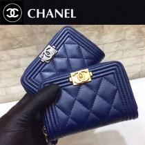 Chanel-80602-05 原版皮 進口羊皮 錢包 卡包