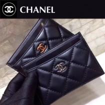 Chanel-624-01 香奈兒進口羊皮卡包