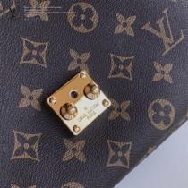 LV-M40465 路易威登新款原版皮Meties經典拼色郵差包