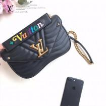 LV-M51943 路易威登新款原版皮NEW WAVE中號手袋