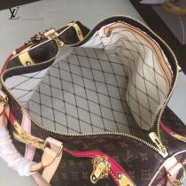 LV-M43613 路易威登新款原版皮KEEPALL美少女系列限量款旅行袋