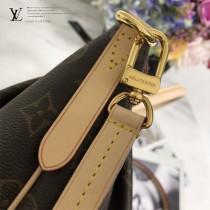 M48814-01 原版皮 手袋 既可手提亦可肩背 時尚休閑兩不誤