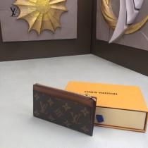 LV-M64038-02 路易威登新款原版皮黑格零錢卡片包