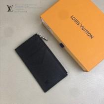LV-M64038-03 路易威登新款原版皮黑格零錢卡片包
