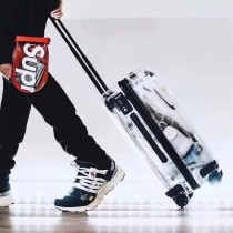 RIMOWA-0111 OFF-WHITE RIMOWA日默瓦聯名全透明TOPAS系列鹿晗 李宇春同款行李箱 吃土也要買的款式