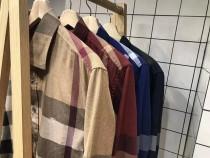 秋季新品!长袖衬衫!战马经典的格纹衬衫!三防伪俱全,4色可选!