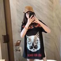 暗黑系短袖!早春BLACK CAT 系列情侶款短袖T恤!