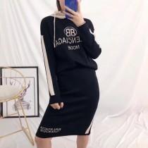 潮客 毛衣套装 黑色均码 优质面料,亲肤透气,柔软舒适 今年必定又是一款引领时尚风潮的大作