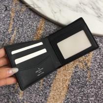 LV-N64002-01  路易威登新款原版皮男士短款錢夾