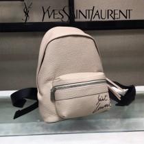 YSL新款原版皮  Saint Laurent專櫃同步迷妳雙肩背包