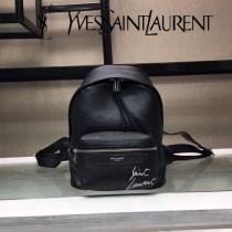 YSL新款原版皮  Saint Laurent專櫃同步迷妳雙肩背包-1