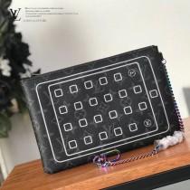 LV-M64449-01  路易威登專櫃同步原版皮系列手包 零钱包