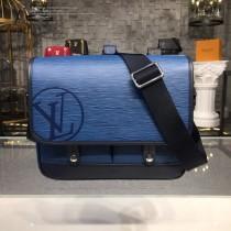 LV-M53494  路易威登新款經典LU MESSENGER小號藍色郵差包