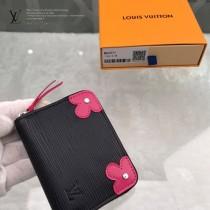 LV-M62971  路易威登新款原版皮Zippy拉鏈零錢包