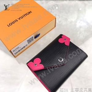 LV-M62980  路易威登新款原版皮Victorine錢夾