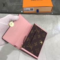 LV-M64587-01  路易威登新款原版皮短款錢夾