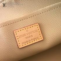 LV-N23346  路易威登新款白格中號原版皮手包化妝包