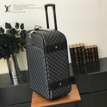 LV-N41385  路易威登新款黑格限量版原單拉桿箱